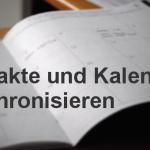 Windows 10 Kontakte und Kalender mit ownCloud