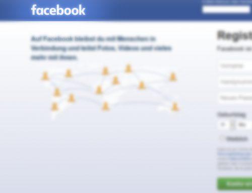 Facebook ohne Reue